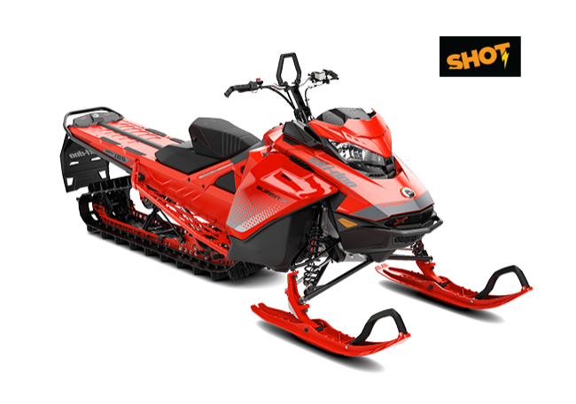 SUMMIT X 154″ 850 E-TEC SHOT MY2019 (RED)