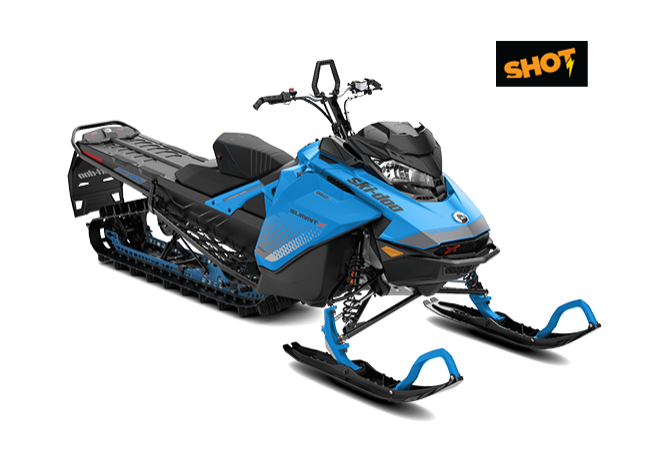 SUMMIT X 165″ 850 E-TEC SHOT MY2019 (BLUE)
