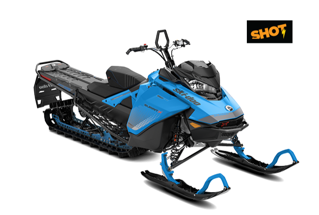SUMMIT X 154″ 850 E-TEC SHOT MY2019 (BLUE)